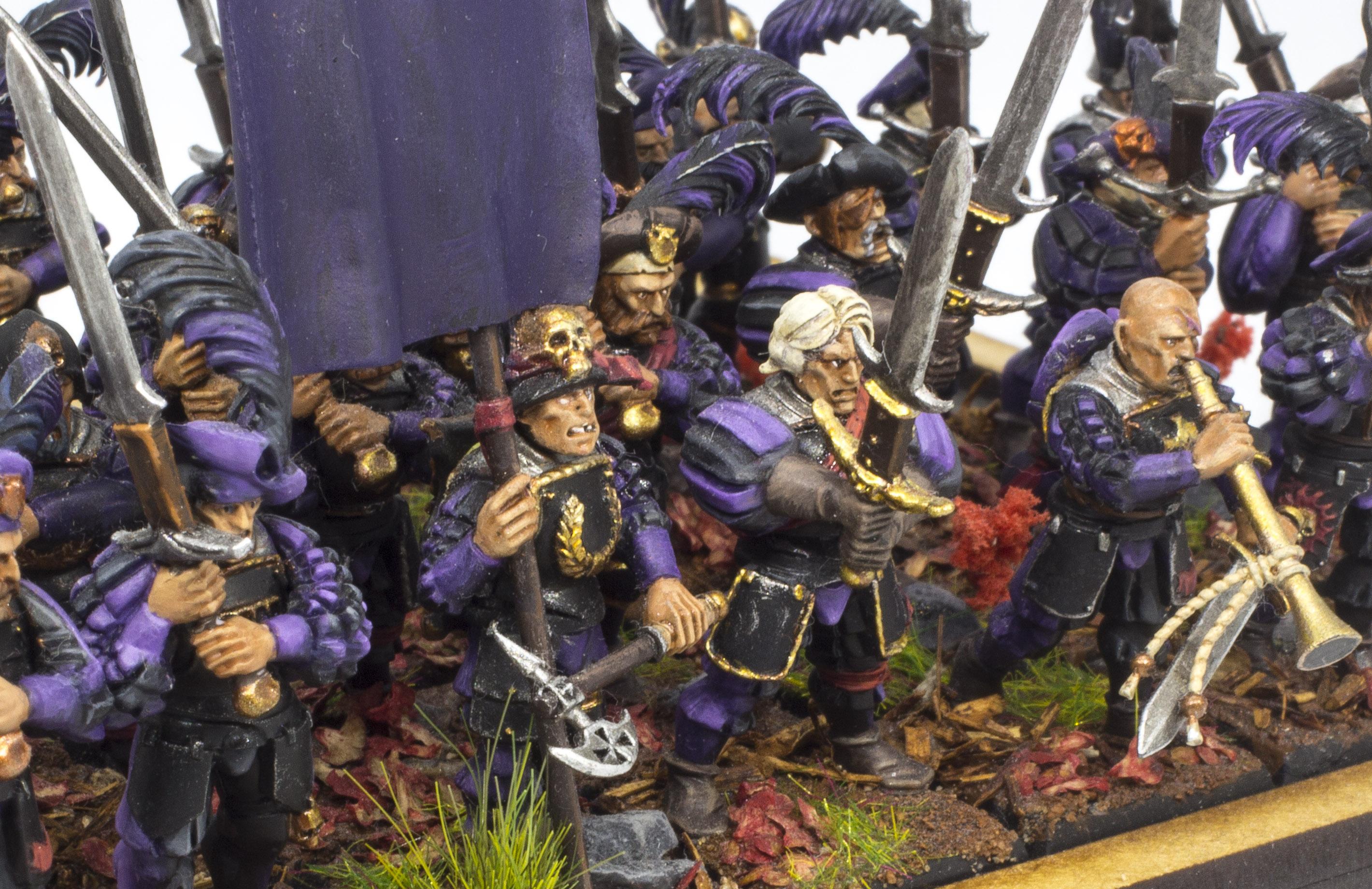 Joueurs d'épée, protégez le général !